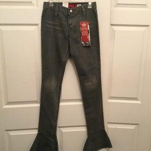 Levis' Vintage Wash Super-low Bootlet Jeans 3Jr
